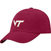 Top of the World Men's Virginia Tech Hokies Maroon Staple Vintage Patch Adjustable Hat