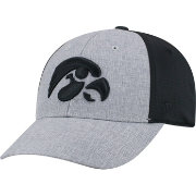 Top of the World Men's Iowa Hawkeyes Grey/Black Faboo 1Fit Hat