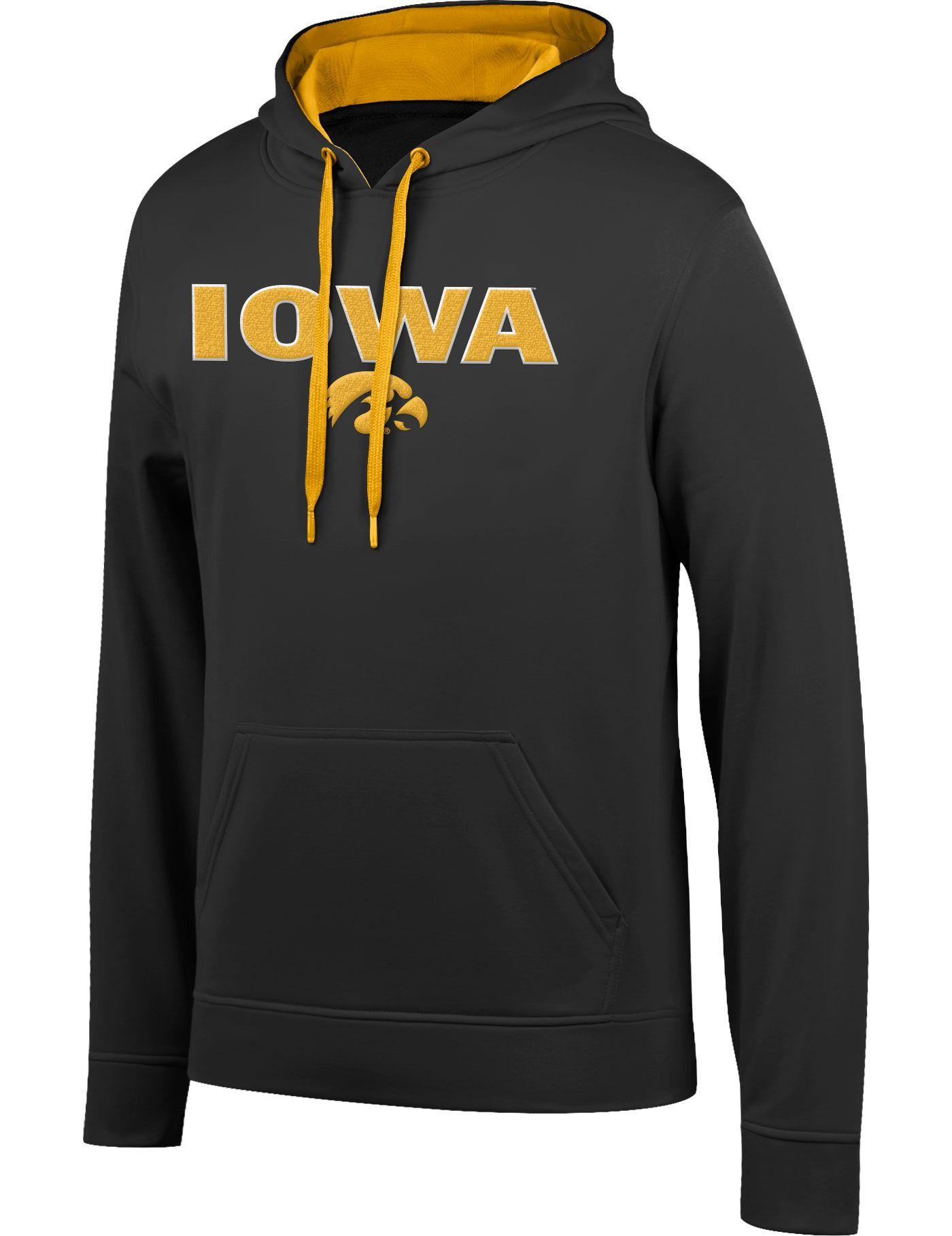 Top of the World Men's Iowa Hawkeyes Foundation Black Hoodie