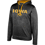 Top of the World Men's Iowa Hawkeyes Grey Foundation Hoodie