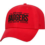 Top of the World Men's Wisconsin Badgers Red Lockers Adjustable Hat