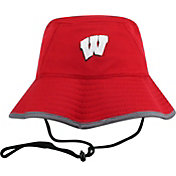 Top of the World Men's Wisconsin Badgers Red Bucket Hat