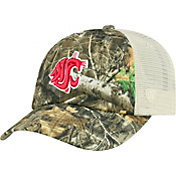 Top of the World Men's Washington State Cougars Camo Sentry Adjustable Hat