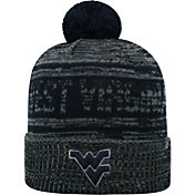 Top of the World Men's West Virginia Mountaineers Sockit To Me Grey Knit Beanie