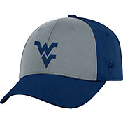 Top of the World Men's West Virginia Mountaineers Grey/Blue Two Tone Adjustable Hat