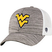 Top of the World Men's West Virginia Mountaineers Grey Warmup Adjustable Hat