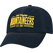 Top of the World Men's West Virginia Mountaineers Blue Lockers Adjustable Hat