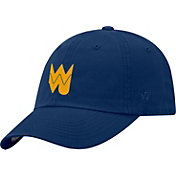 Top of the World Men's West Virginia Mountaineers Blue Staple Vintage Patch Adjustable Hat
