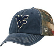 Top of the World Men's West Virginia Mountaineers Blue Flagtacular Adjustable Hat