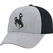 Top of the World Men's Wyoming Cowboys Grey/Black Faboo 1Fit Hat