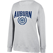 Top of the World Women's Auburn Tigers Favorite Fleece White Crewneck Sweatshirt