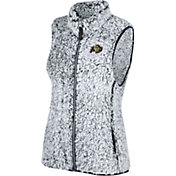 Top of the World Women's Colorado Buffaloes Grey Lift Sherpa Vest