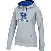 Top of the World Women's Kentucky Wildcats Grey Essential Hoodie