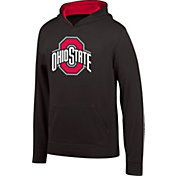 Scarlet & Gray Boys' Ohio State Buckeyes Foundation Black Hoodie