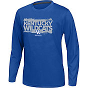 Top of the World Youth Kentucky Wildcats Blue Callout Long Sleeve Tee