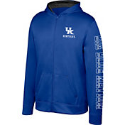 Top of the World Youth Kentucky Wildcats Blue Foundation Full-Zip Hoodie