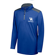 Top of the World Youth Kentucky Wildcats Blue Quarter-Zip Top