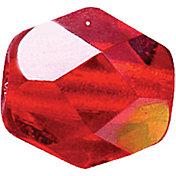 Top Brass Glass Beads
