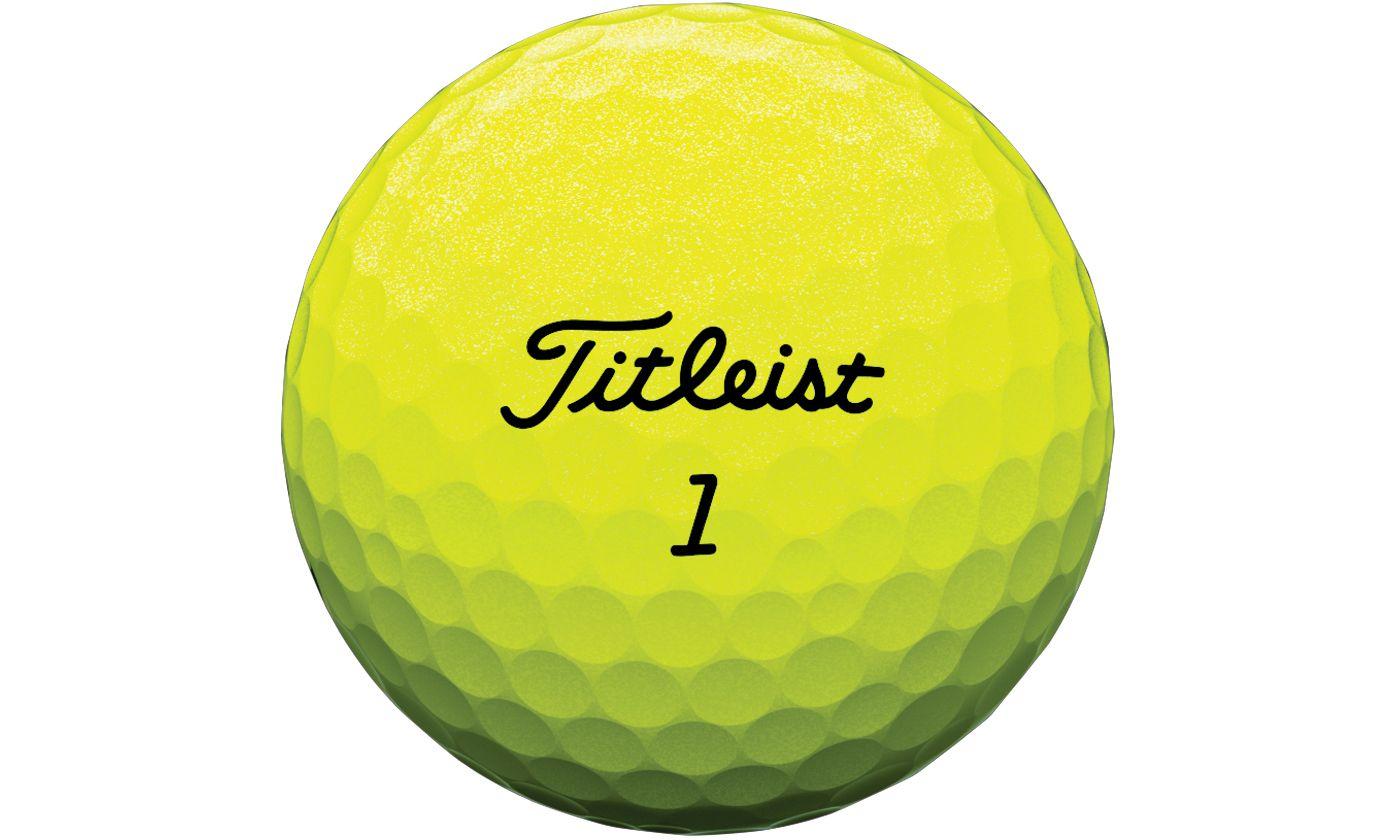 Titleist Tour Soft Yellow Personalized Golf Balls