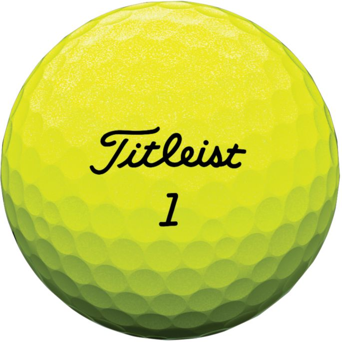 Titleist Tour Soft Yellow Personalized Golf Balls Golf Galaxy
