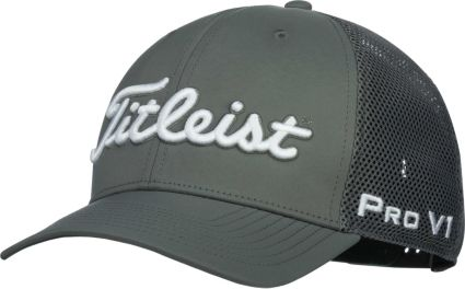 Titleist Men s Tour Mesh Snapback Golf Hat. noImageFound c3f89f4af41