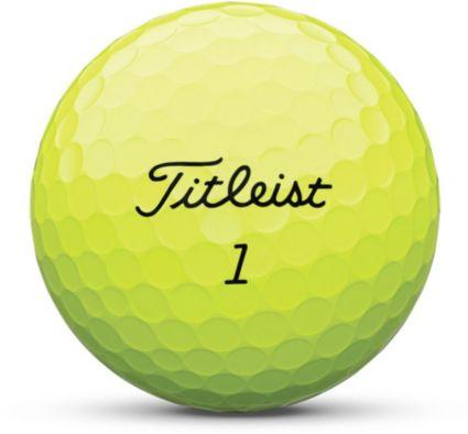 Titleist AVX Optic Yellow Golf Balls