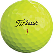 Titleist 2019 Pro V1x Optic Yellow Golf Balls