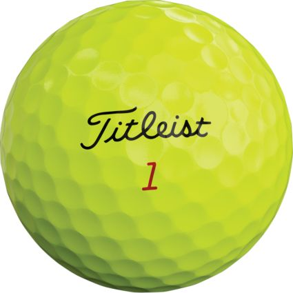 Titleist 2019 Pro V1x Optic Yellow Golf Balls