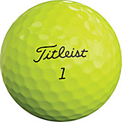 Titleist 2019 Pro V1 Optic Yellow Golf Balls