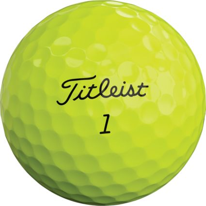 Titleist 2019 Pro V1 Optic Yellow Golf Balls