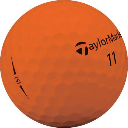 TaylorMade 2018 Project (s) Matte Orange Golf Balls