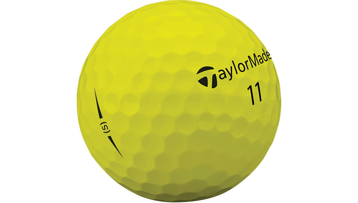 TaylorMade 2018 Project (s) Matte Yellow Golf Balls