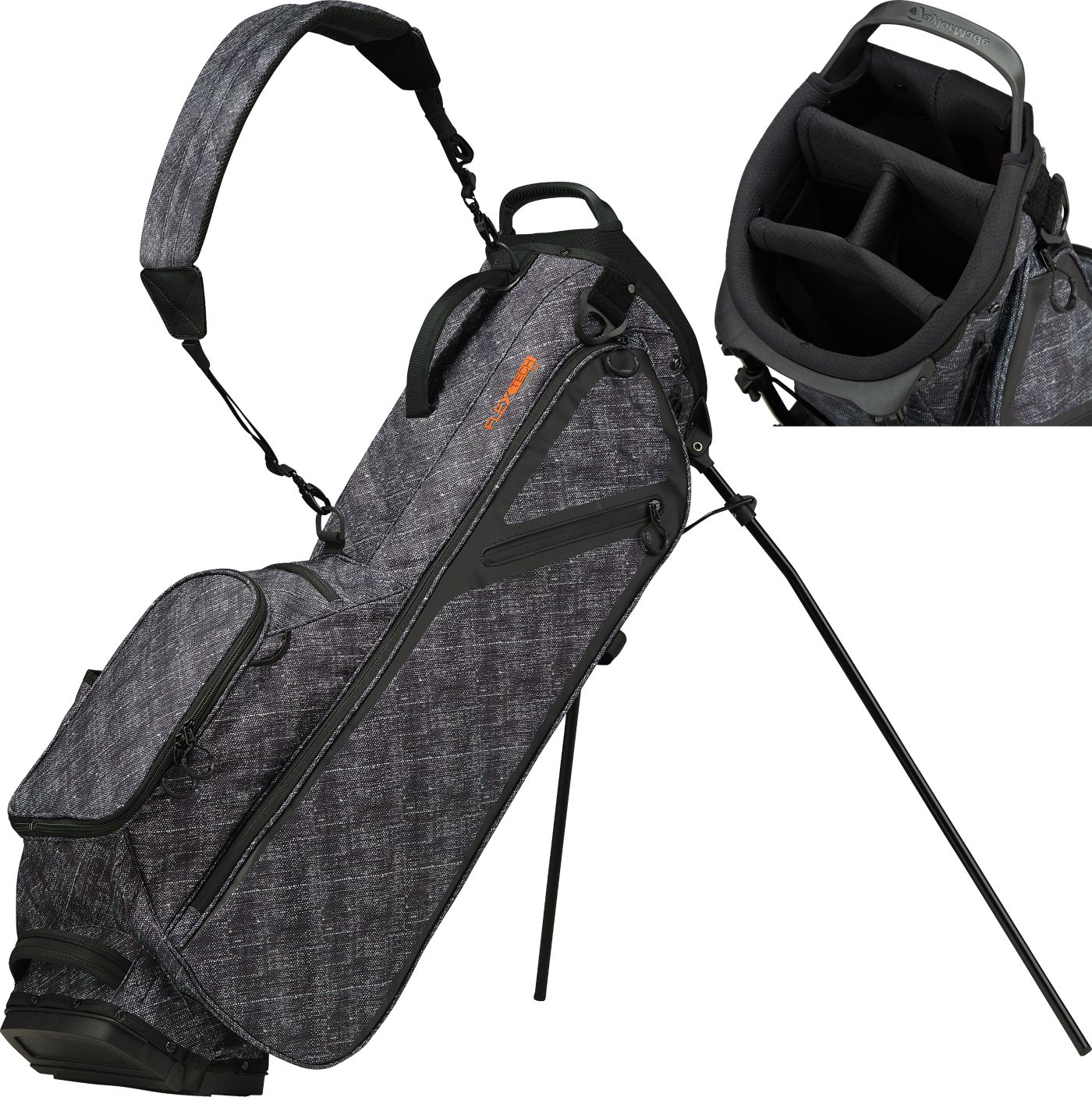 TaylorMade 2019 FlexTech Lite Lifestyle Single-Strap Stand Bag