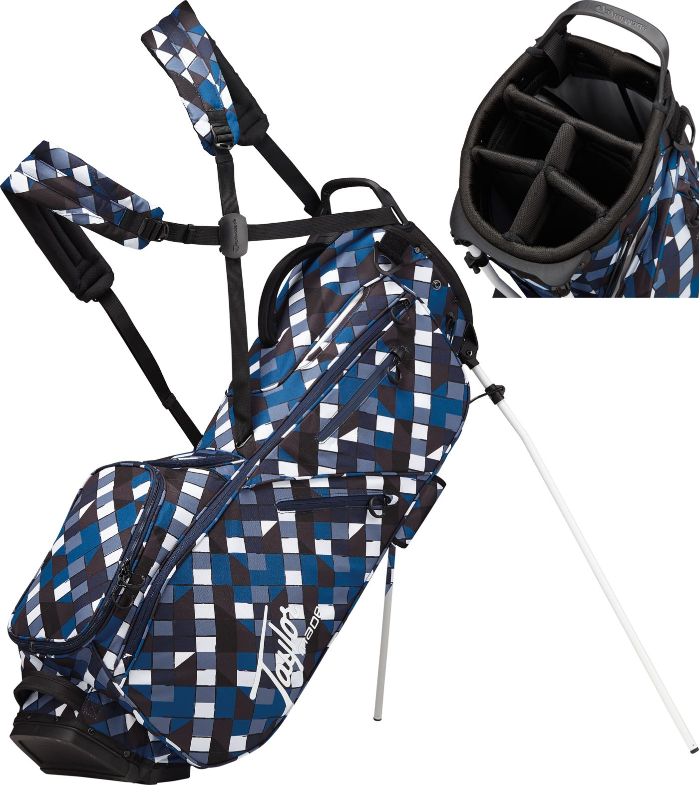 TaylorMade 2019 FlexTech Lifestyle Stand Bag