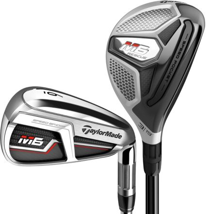 TaylorMade M6 Rescue/Irons – (Graphite/Steel)