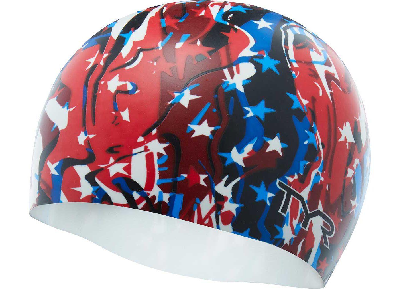TYR Firecracker Swim Cap