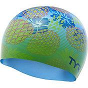 TYR Pineapple Fade Swim Cap