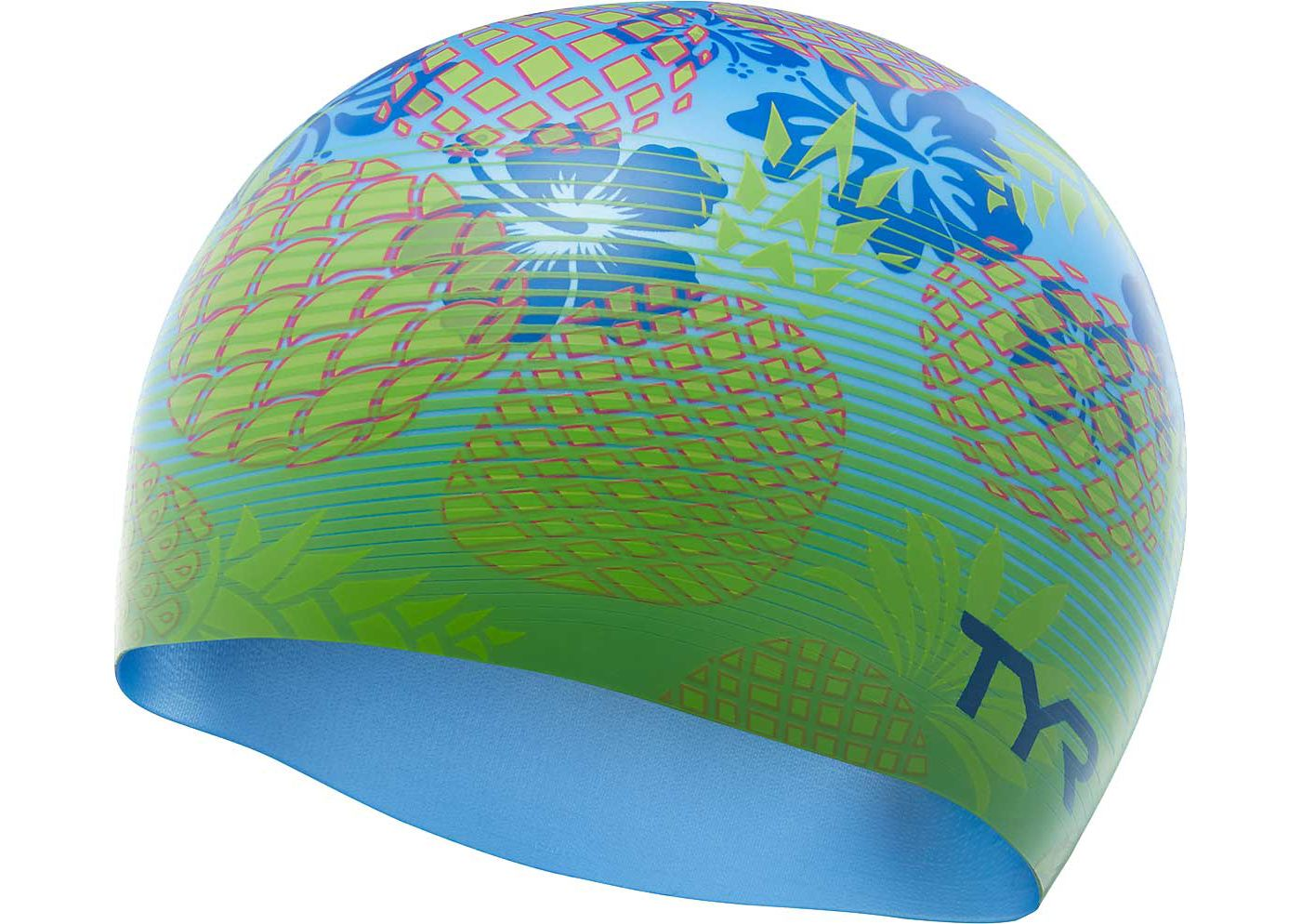 TYR Pineapple Fade Swim Cap