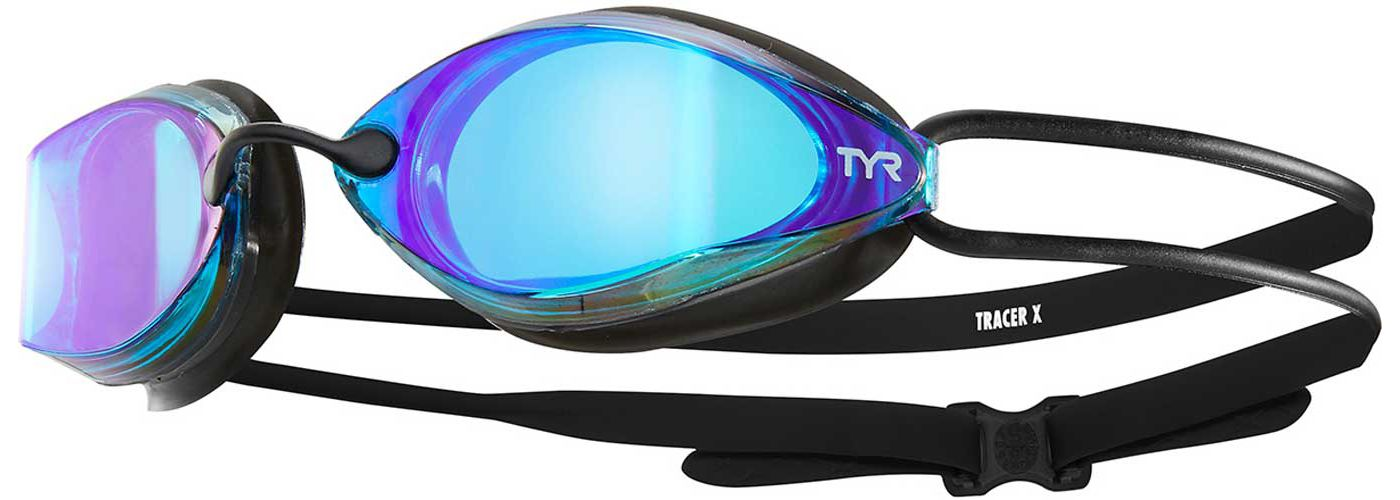 TYR Adult Tracer-X Mirrored Racing Goggles