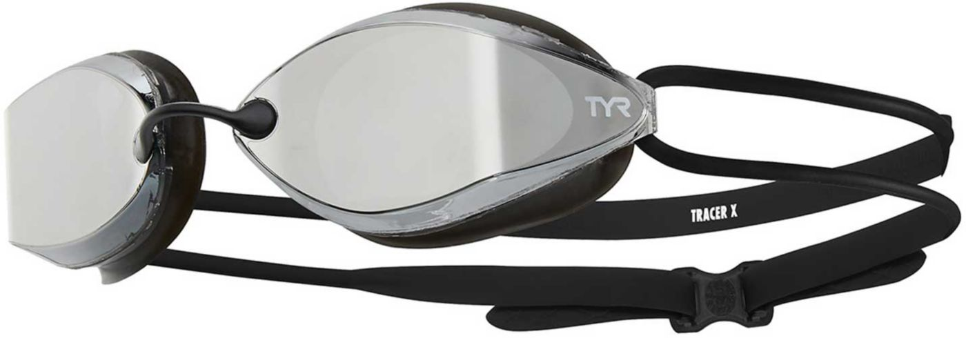 TYR Adult Tracer-X Nano Mirrored Racing Goggles