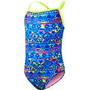 TYR Girls' Hypernova Diamondfit Racerback Swimsuit
