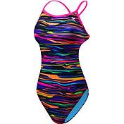 TYR Women's Fresno Cutoutfit Crossback Swimsuit