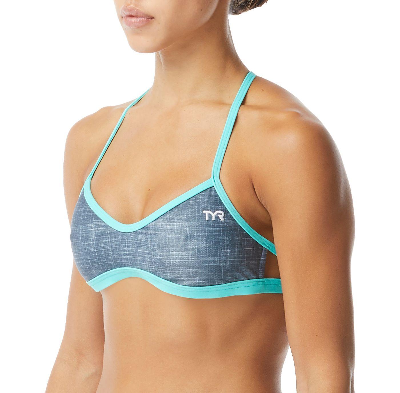 TYR Women's Sandblasted Mojave Crossback Swim Top