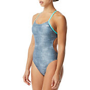 TYR Women's Sandblasted Cutoutfit Racerback Swimsuit