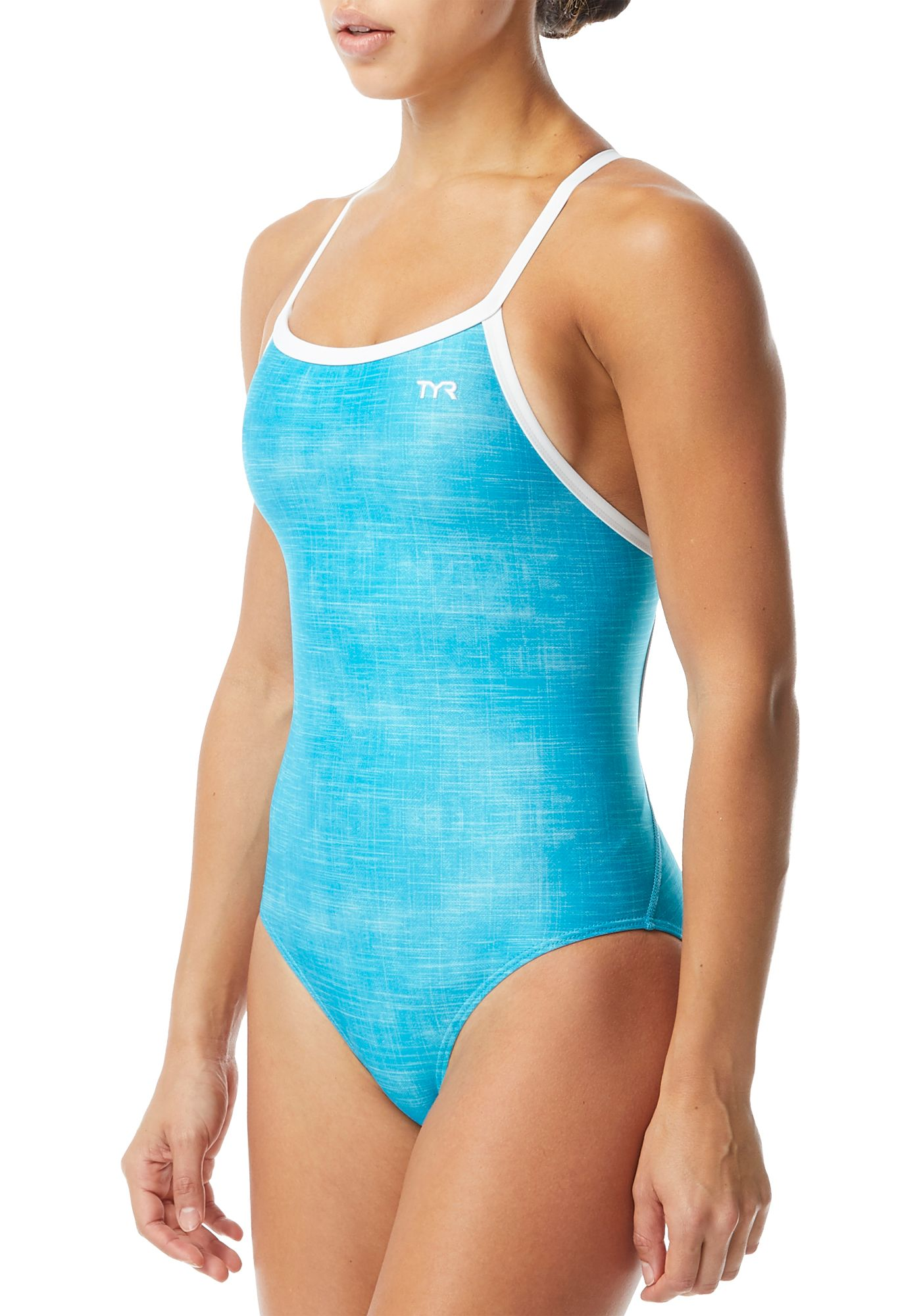 TYR Women's Sandblasted Diamondfit Racerback Swimsuit