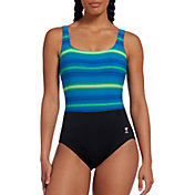 TYR Women's Tramonto Scoop Neck Controlfit Swimsuit