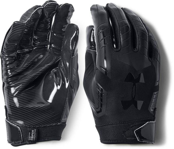 discountwinkel stabiele kwaliteit op voeten bij Under Armour Adult F6 Receiver Gloves