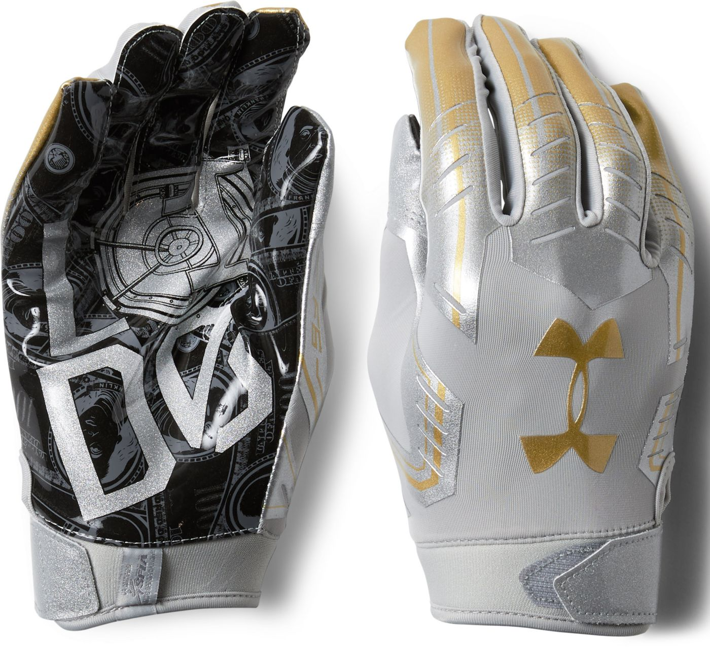 Under Armour Adult Limited Edition F6 Receiver Gloves