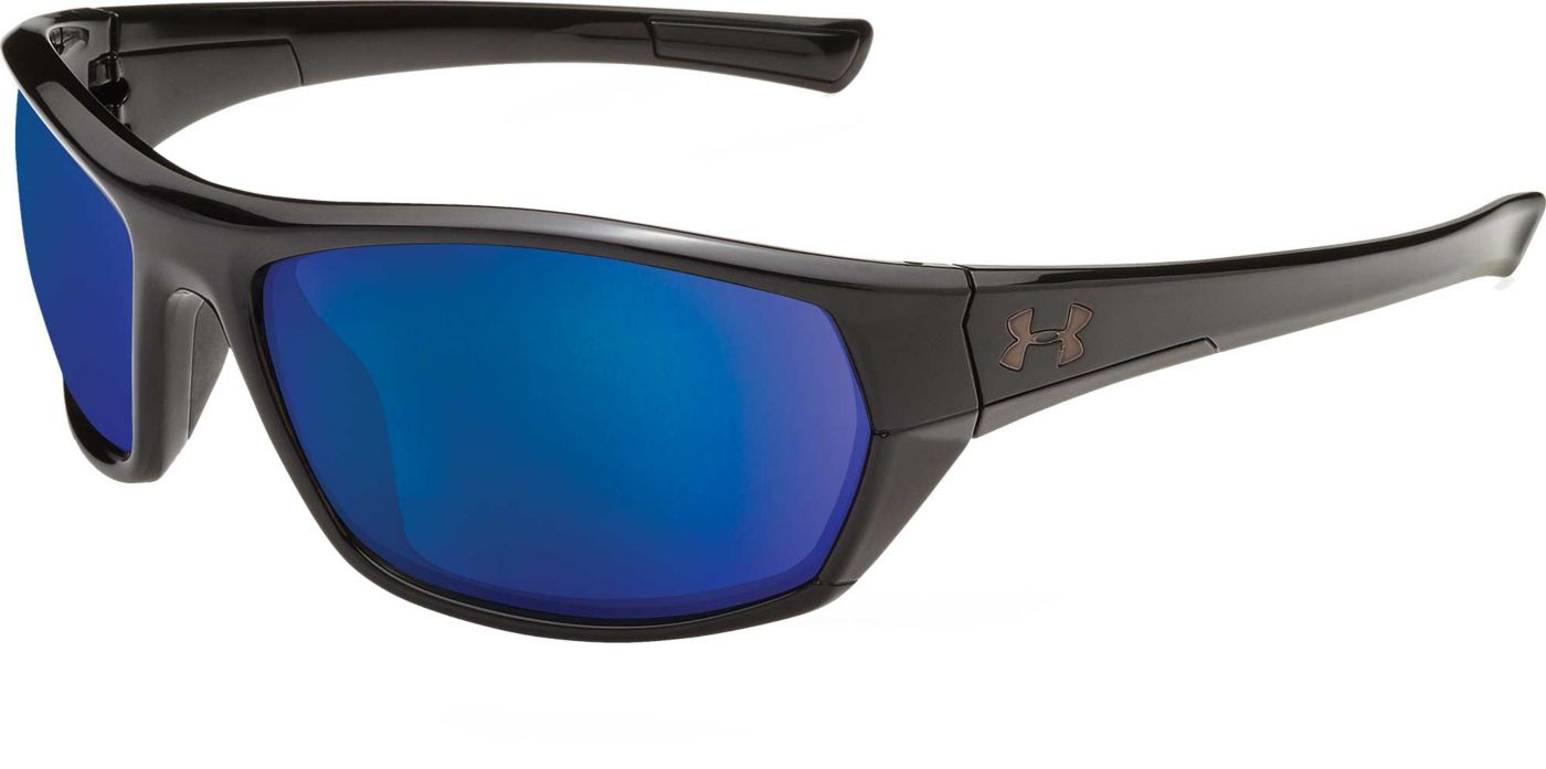 Under Armour Men's Powerbrake Fishing Tuned Offshore Polarized Sunglasses