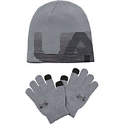 Under Armour Boys' Beanie and Gloves Combo